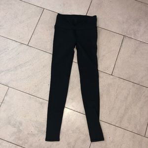 Lululemon Leggings with cut outs down the legs